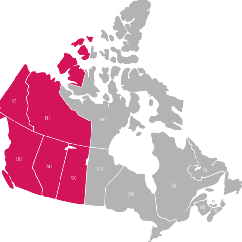 IE Territory Map - Canada